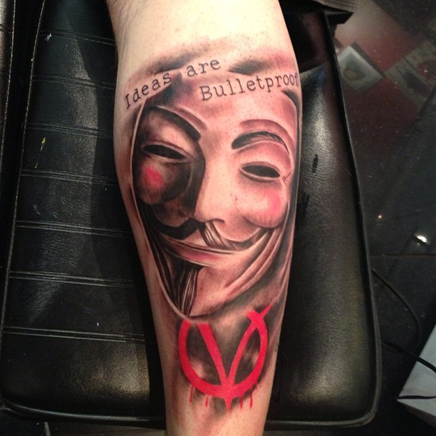 Anonymous tattoo
